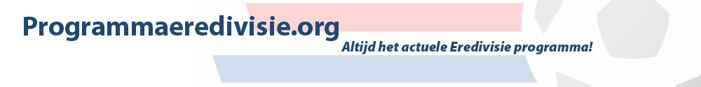 Programma Eredivisie